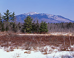Mt. Monadnock and Scott Brook Area in Winter, View from Fitzwilliam, NH