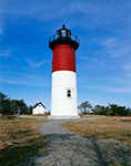Nauset Light with Pathway, Cape Cod National Seashore, Cape Cod, Eastham, MA