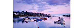 Early Evening in York Harbor, York, ME