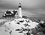 Portland Head Light in Winter, Cape Elizabeth, ME