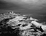 Storm at Portland Light, Cape Elizabeth, ME