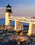 Sunrise at Marshall Point Light, Port Clyde, ME