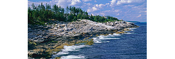 Maine Coastline, Pemaquid Point Area, ME