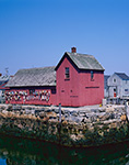 Motif #1 with Clear Skies, Rockport Harbor, Rockport, MA