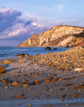 Rocky Beach and Gay Head Cliffs, Martha's Vineyard, Aquinnah, MA