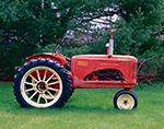 Twin Power 101 Junior Massey-Harris Tractor, Potterville Museum, Scituate, RI