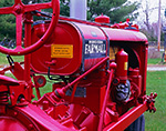 Close-up View of International Harvester F-20 McCormick Deering Farmall Tractor, Potterville Museum, Scituate, RI