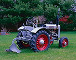 Silver King Tractor with Plow Attachment, Potterville Museum, Scituate, RI
