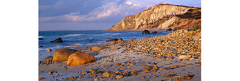 Rocky Beach and Gay Head Cliffs, Martha's Vineyard, MA