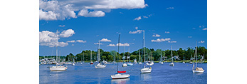 Beautiful Day, Barrington River, Barrington, RI