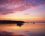 Sunset on Lake Tashmoo, Martha's Vineyard, Tisbury, MA