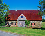 Stone Barn at Stone Barn Farm, Mt. Desert Island, Bar Harbor, ME