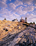 Early Morning at Pemaquid Point Light, Pemaquid Point, Bristol, ME