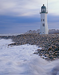 Gale Winds at Old Scituate Lighthouse, South Shore, Scituate, MA