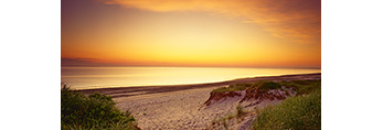 Predawn, Sandy Neck Dunes and Bay, Cape Cod, Barnstable, MA