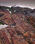 Rocks and Waves along Maine's Rugged Coast, Marginal Way, Ogunquit, ME