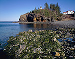 Tidal Zone, Cliffs and Owls Head Lighthouse, Owls Head, ME