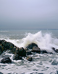 Rock and Surf, Maine Coast, Kennebunk, ME