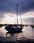Evening Light on Boats in Wickford Harbor, Wickford, North Kingstown, RI