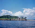 Eagle Island with Home of Admiral Robert Peary, Eagle Island State Historic Site, Casco Bay, Harpswell, ME