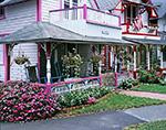 "Gingerbread Houses ""Lil Bit"" and ""16"", Martha's Vineyard, Oak Bluffs, MA"