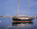 "Sailing Ketch ""Sea Chantey"" in Oak Bluffs Harbor, Martha's Vineyard,  Oak Bluffs, MA"