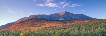 Fast Moving Clouds over Mt. Katahdin in Fall, Baxter State Park, ME