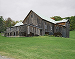 Old Wooden Barn in Late Summer, Peacham, VT