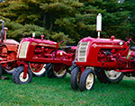Cockshutt Tractors, Model 20 and Model 30, Dorr Tractor Farm, Manchester, VT 