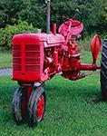 Super C McCormick Farmall Tractor, Dorr Tractor Farm, Manchester, VT
