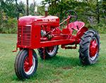 Wards Twin-Row Tractor, Dorr Tractor Farm, Manchester, VT
