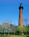 Currituck Beach Light in Spring, Outer Banks, Corolla, NC