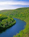 Upper Delaware River in Spring, Deerpark, NY