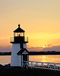 Sunrise at Brant Point Light, Nantucket Island, MA
