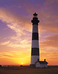 Sunrise at Bodie Light, Cape Hatteras National Seashore, Outer Banks, NC