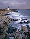 Rugged Maine Coast and Portland Light, Cape Elizabeth, ME