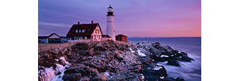 Early Morning at Portland Light, Cape Elizabeth, ME
