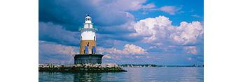 Greens Ledge Light, Long Island Sound, Norwalk Islands, Norwalk, CT