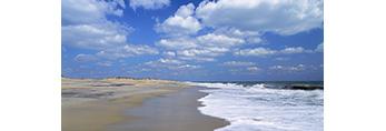 Beach at Pea Island National Wildlife Refuge, Outer Banks, North Carolina