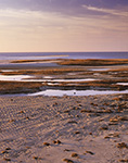 Patterns on Sandbar and Salt Marsh, Paines Creek Beach, Cape Cod, Brewster, MA