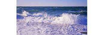 """""""Breakers"""" and Heavy Surf at Race Point Beach, Cape Cod National Seashore, Provincelands, Provincetown, MA"""