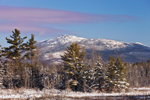 View of Mount Monadnock after Fresh Snowfall from Fitzwilliam, NH