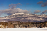 View of Mount Monadnock and Pearly Lake after Fresh Snowfall, Rindge, NH