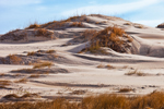 Wind-blown Sand Patterns in Dunes, Pea Island National Wildlife Refuge, Cape Hatteras National Seashore, Outer Banks, NC