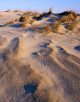 Sand Patterns in the Dunes, Pea Island National Wildlife Refuge, Cape Hatteras National Seashore, Outer Banks, NC