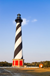 Early Morning Light at Cape Hatteras Lighthouse, Cape Hatteras National Seashore, Outer Banks, NC