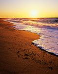 Sunset at Race Point Beach, Cape Cod National Seashore, Provincelands, Provincetown, MA