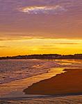 Sunset at Wallis Sands Beach, Wallis Sands State Park, Rye, NH