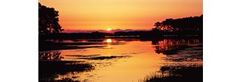 Sunrise at Chincoteague National Wildlife Refuge, Assateague National Seashore, VA