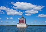 New London Ledge Light, Long Island Sound, New London, CT